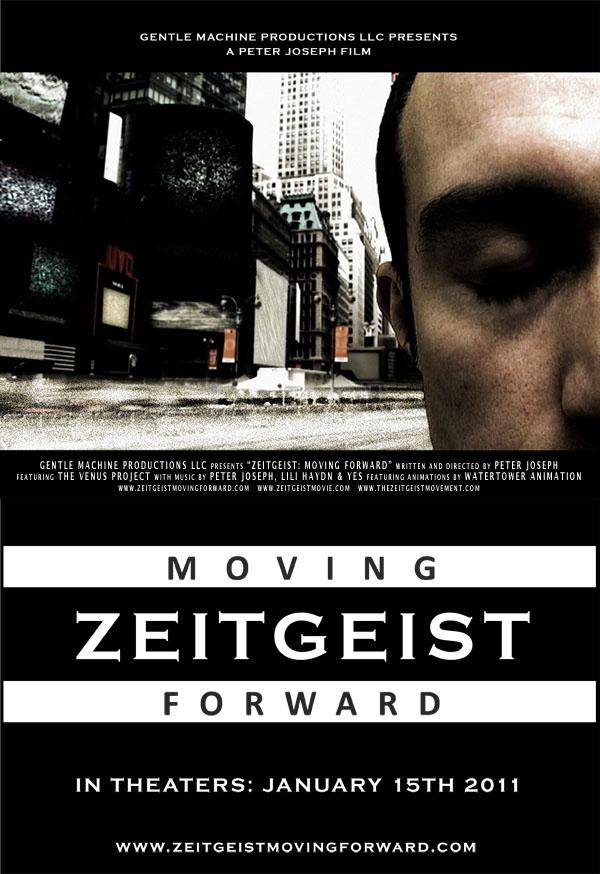 Zeitgeist Moving Forward, lo spirito del tempo in un docu-film