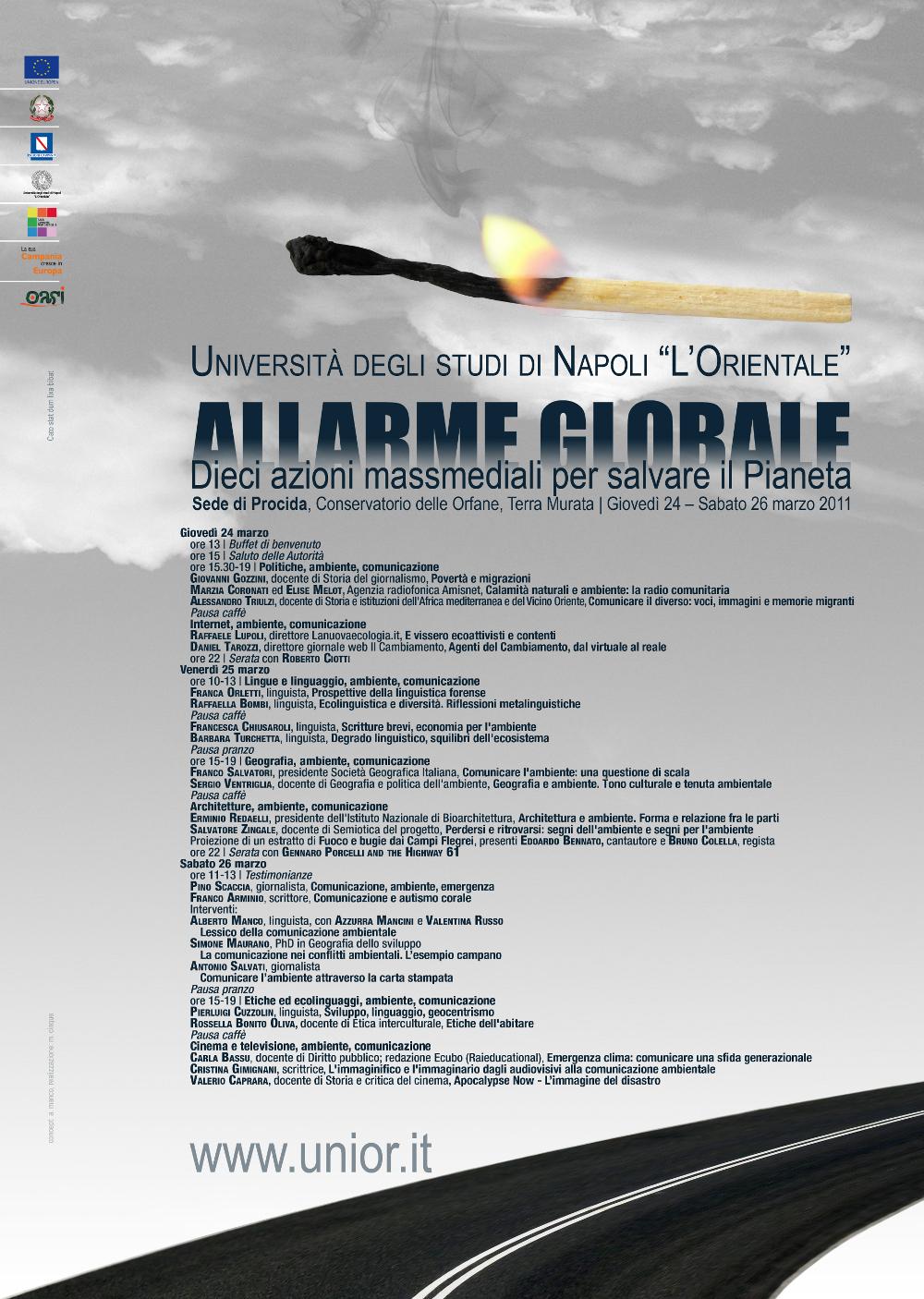Allarme globale: dieci azioni massmediali per salvare il pianeta