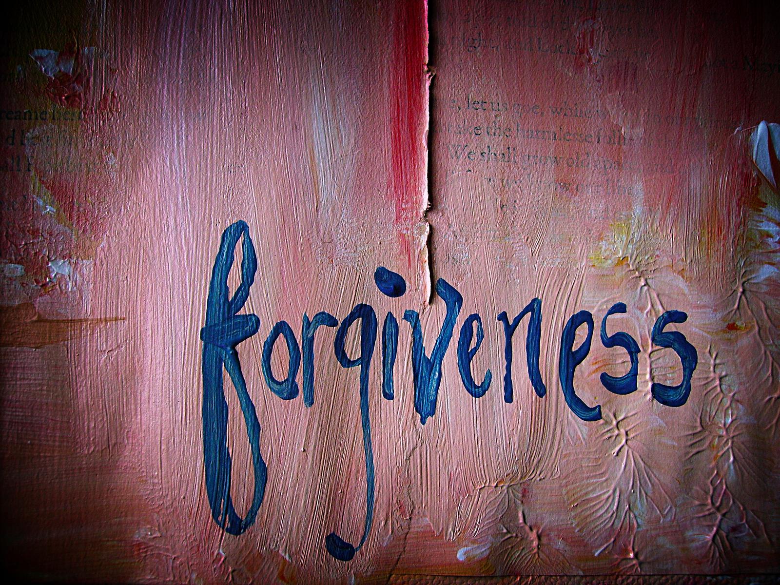 Quando il cibo è anche la via per il perdono...