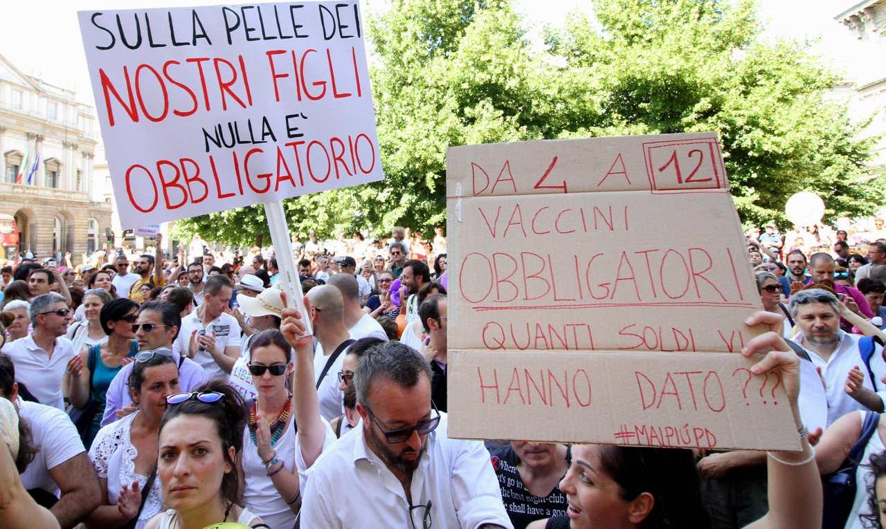 Decreto vaccini: l'11 giugno a Roma in migliaia per dire no