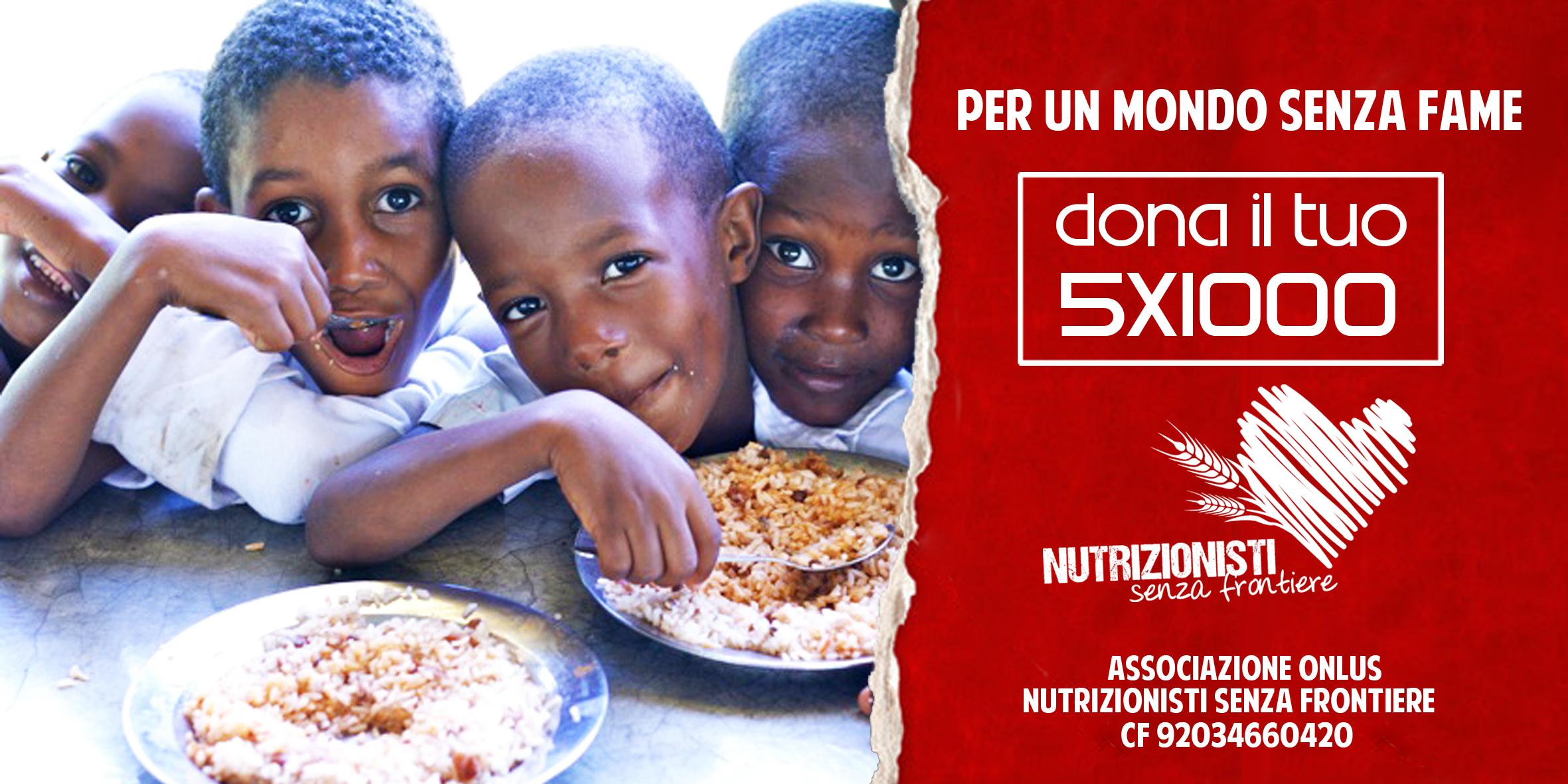 Nutrizionisti senza frontiere: perché il cibo sia diritto di tutti alla salute