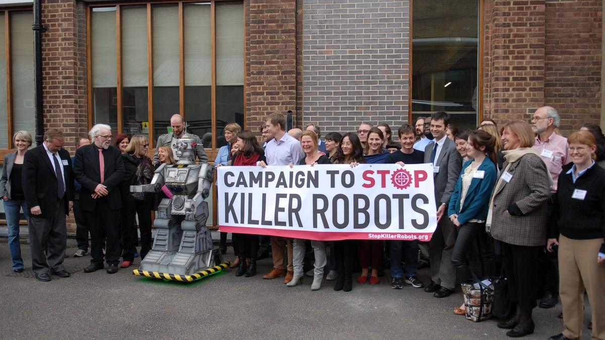 Rete Disarmo: «Fermiamo i killer robots»