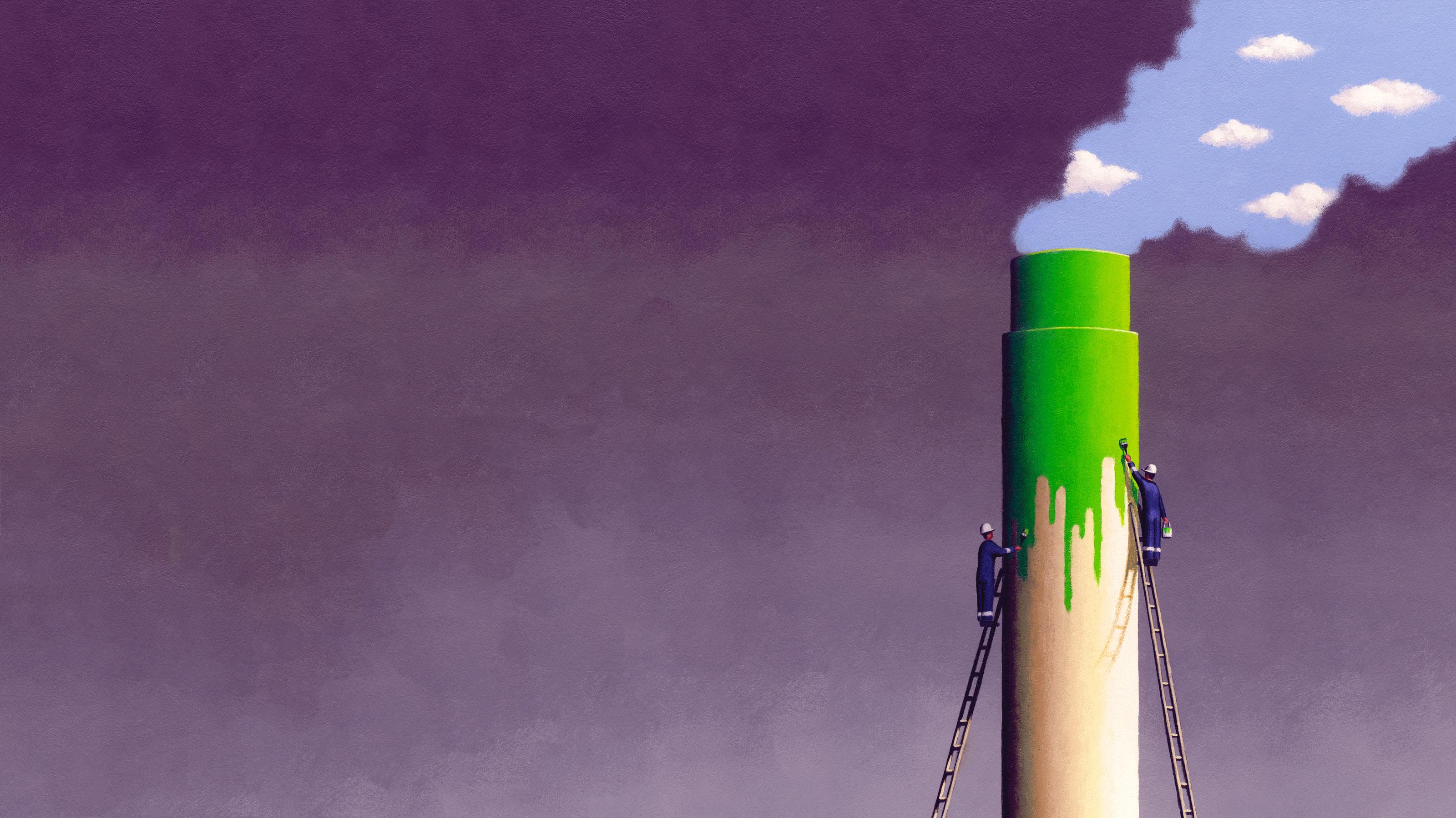 Il falso ambientalismo dei colossi dell'energia