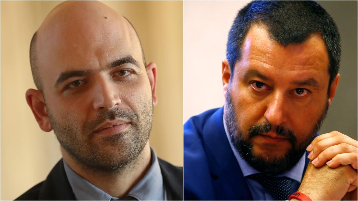 La criminalità si combatte levando la scorta a Roberto Saviano?