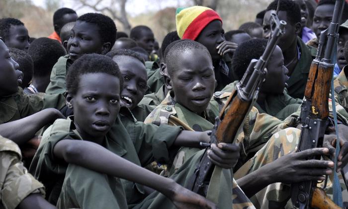 L'infanzia rubata dei bambini soldato